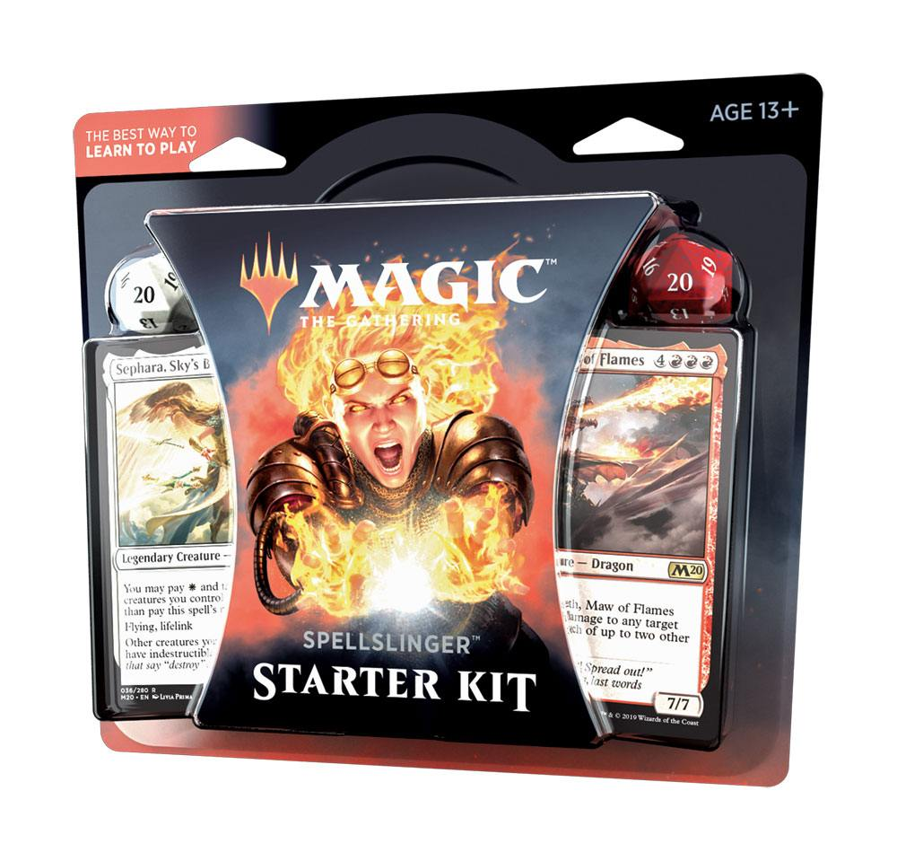 Magic the Gathering Core Set 2020 Spellslinger Starter Kit *ANGLAIS*