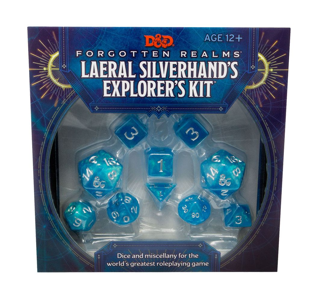 Dungeons & Dragons Forgotten Realms : Laeral Silverhand's Explorer Kit - Dice & Miscellany *ANGLAIS*