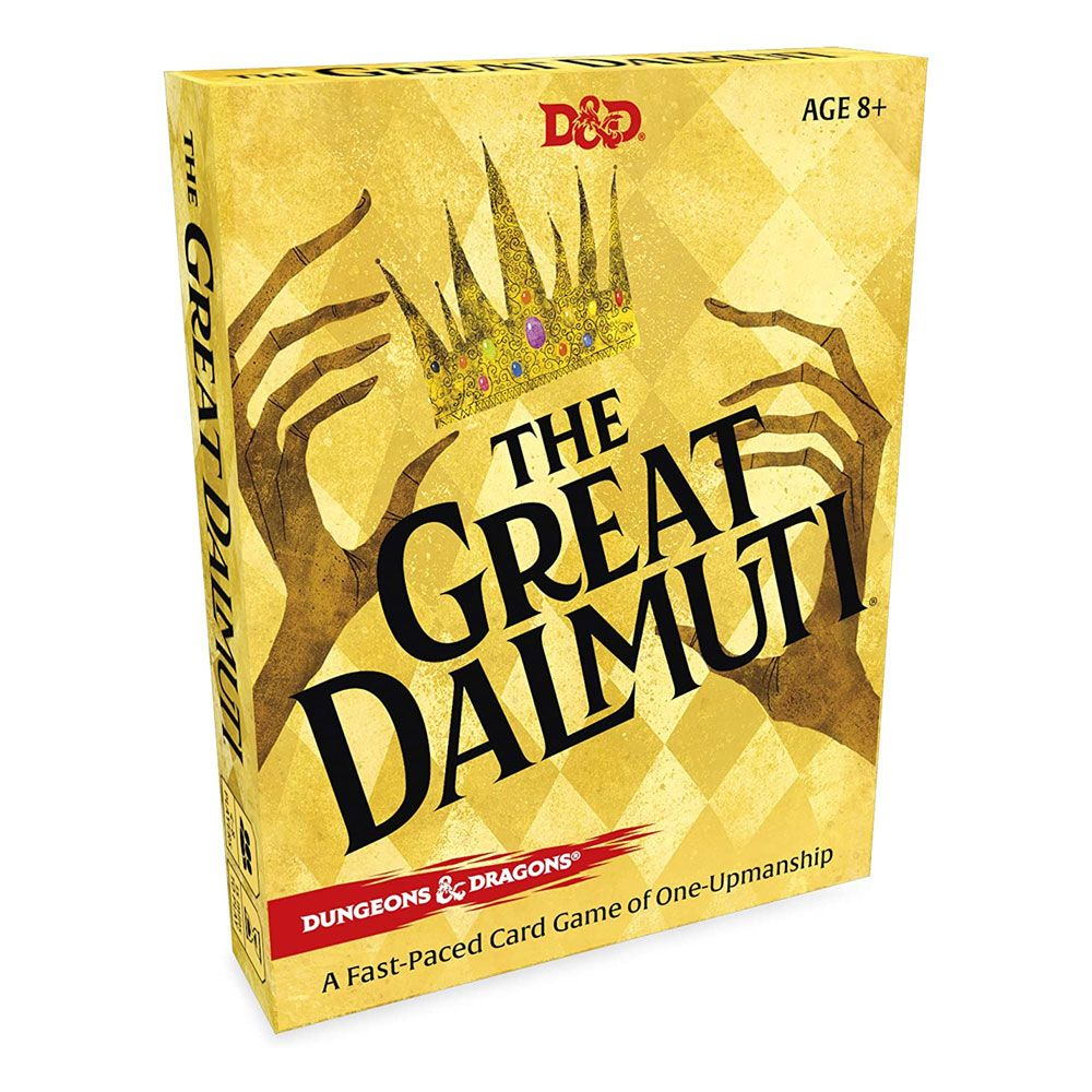 Dungeons & Dragons présentoir jeux de cartes The Great Dalmuti (8) *ANGLAIS*