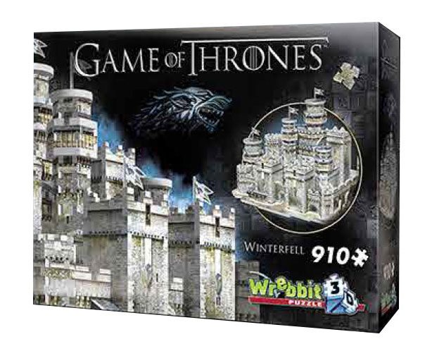 Game of Thrones Puzzle 3D PAD Demo Winterfell
