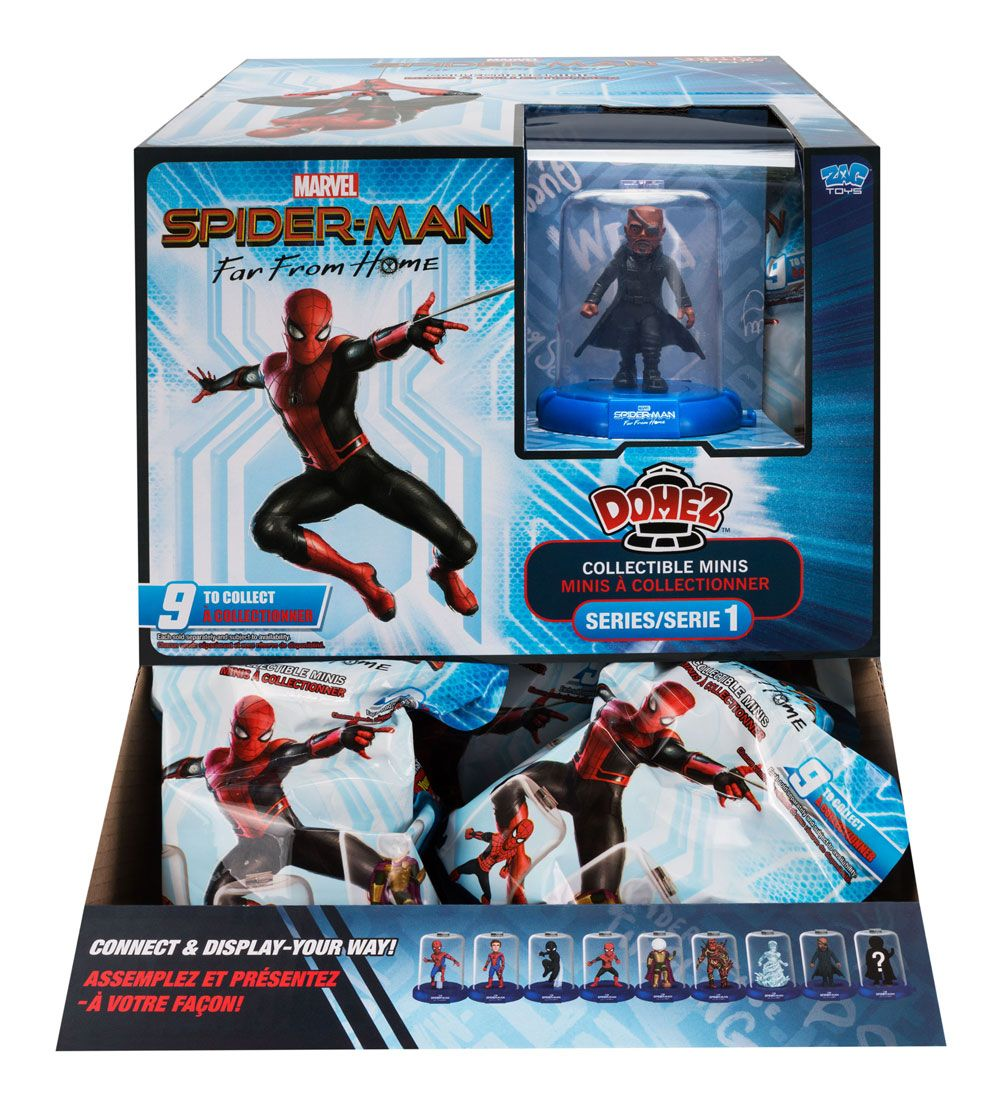 Spider-Man Far From Home série 1 présentoir figurines Domez 7 cm (18)