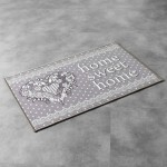 Tapis Multi-usage 50x80cm Home Sweet Home gris