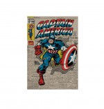 CAPTAIN AMERICA Marvel Poster Retro 61 x 91 cm