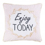 Housse de coussin Modele Enjoy Today