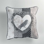 Coussin Passepoil Collection Love Bird