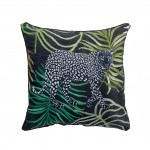 Coussin Passepoil Collection Tropical Green