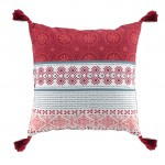 Coussin Pompons Collection Terrabellas