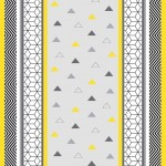 Nappe Toile cirée au mètre Collection Yellow Remix
