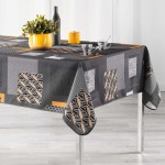 Nappe rectangle Opsis gris