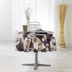 Nappe ronde Collection Cantine
