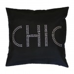Housse de coussin Collection Sequins Chic Strass