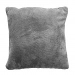 Coussin polyester Flanelle Sweden Gris 40 x 40 cm