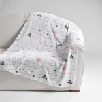 Plaid Couverture Flanelle imprime Collection Cylia
