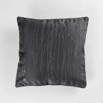 Coussin Passepoil Filliane anthracite