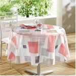 Nappe ronde imprimee Collection Carrea