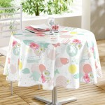 Nappe ronde 160 cm Tea party