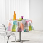 Nappe polyester imprime Collection Ultragraphic 180 cm