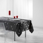 Nappe rectangle Argent Collection Constellation