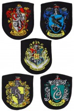 HARRY POTTER Eack écussons House Crests