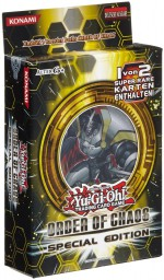 Yu-Gi-Oh! S47 Order of Chaos pack Special Edition ALLEMAND