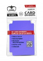 ULTIMATE GUARD 10 intercalaires pour cartes Card Dividers taille standard Violet