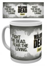 THE WALKING DEAD Mug Fight the Dead