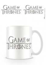 GAME OF THRONES Le Trône de fer mug Logo