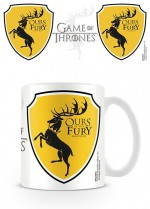 GAME OF THRONES Le Trône de fer mug Baratheon