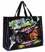 MONSTER HIGH Sac shopping Lagoona Blue et Clawdeen Wolf