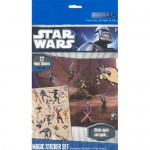 STAR WARS CLONE WARS Jeu Magic stickers set