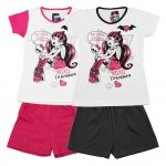 MONSTER HIGH Pyjama short fille 10 ans noir