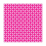 Lot de 20 serviettes en papier geometrique rose