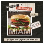 Lot de 20 serviettes en papier burger