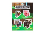 MINECRAFT Set stickers Baby Animals
