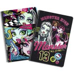 MONSTER HIGH Cahier à spirale A4 All Stars