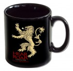 GAME OF THRONES Le Trône de fer mug Lannister noir
