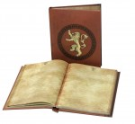 GAME OF THRONES Le Trône de Fer cahier lumineux Lannister