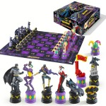 BATMAN Jeu d´échecs Dark Knight vs Joker