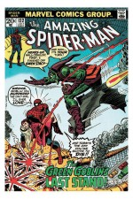SPIDERMAN Marvel Retro Poster Spider-Man Vs Green Goblin 61 x 91 cm