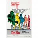 JAMES BOND 007 Poster Dr. No 61 x 91 cm