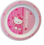 HELLO KITTY Assiette en Mélamine 22 cm