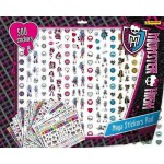 MONSTER HIGH Feuille de +/- 500 stickers 40 x 50 cm