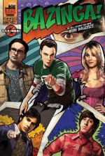 THE BIG BANG THEORY Poster Comic Bazinga 61 x 91 cm