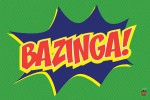 THE BIG BANG THEORY Poster Bazinga Icon 61 x 91 cm