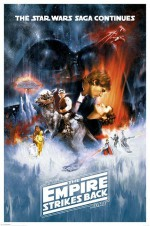 STAR WARS Poster The Empire Strikes Back 61 x 91 cm