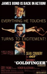 JAMES BOND Poster Goldfinger Excitement 61 x 91 cm